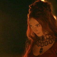 Melisandre, czerwona kapłanka <a href=