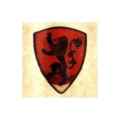 Герб будинку Ланістерів (розробка компанії Maester's Path)