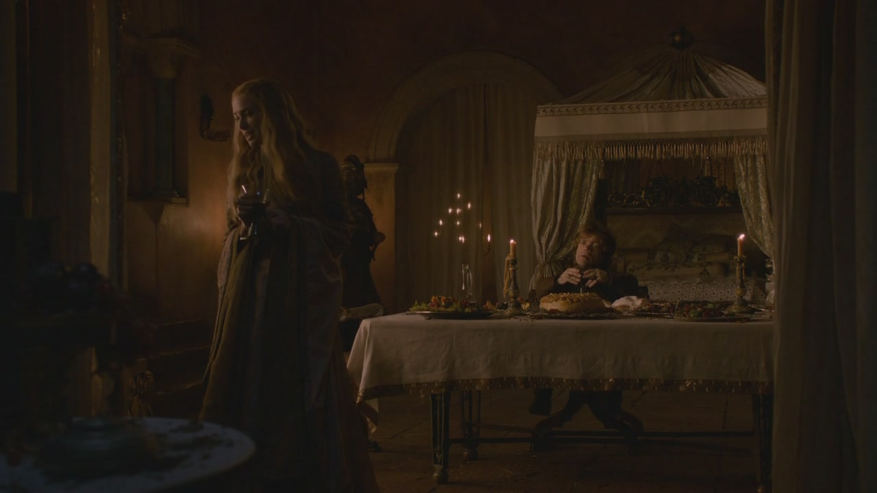 Lamprey Pie On The Table Before Tyrion