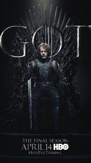 Season 8 poster Theon