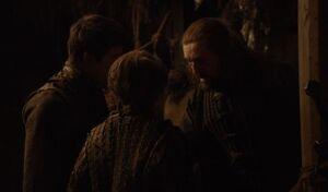 203 Yoren zu Gendry und Arya Stark