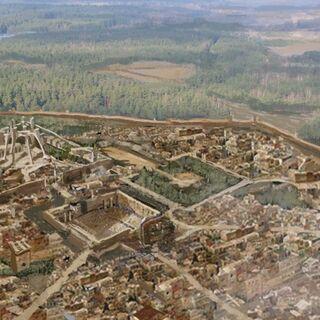 Luftbild der Großen Septe von Baelor <br /> von <i>Kimberley Pope</i>