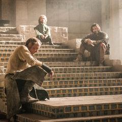 "Daario, Jorah i Tyrion, ""<a href="