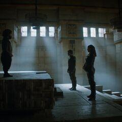 Daenerys trifft auf Theon und Asha Graufreud