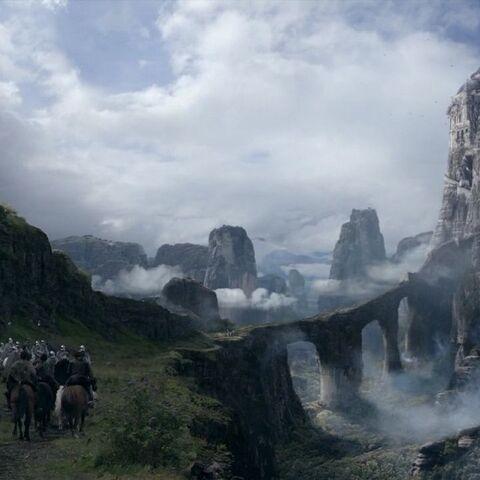 Hohenehr im Tal von Arryn mit dem <a href=