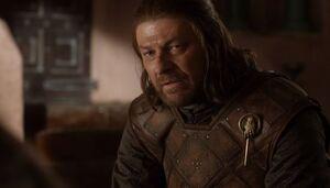 107 Eddard an Roberts Sterbebett
