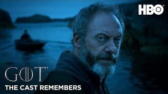 The Cast Remembers Liam Cunningham on Playing Davos Seaworth Game of Thrones Season 8 (HBO)
