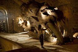 Арья Старк и череп дракона 1x05