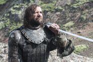 Сандор Клиган с мечом 4x10