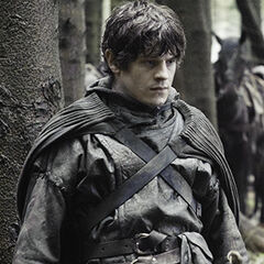 Ramsay posing as a Greyjoy emissary