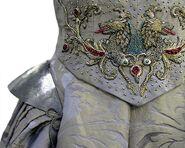 308 Sansa wedding dress embroidery 1