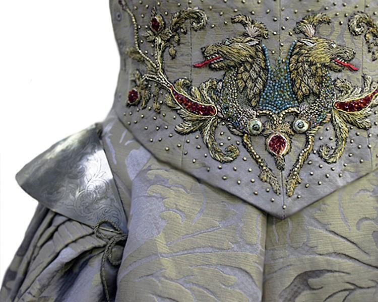 Image 308 Sansa Wedding Dress Embroidery 1g Game Of Thrones