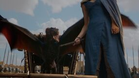 Drogon takes Flight S3E4