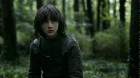 """Game of Thrones (S03E02) - Bran has another """"Green Dream""""."""