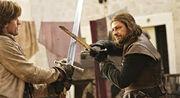 Ned Stark vs Jaime Lannister