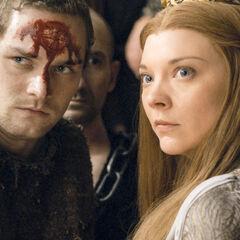 Loras i jego siostra chwilę przed śmiercią.