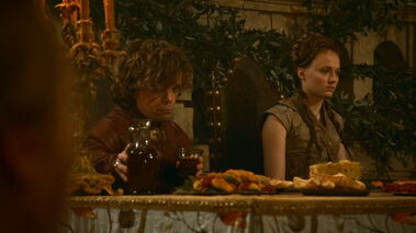 Tyrion and Sansa wedding 2 3x08