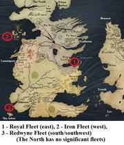 Fleets of Westeros