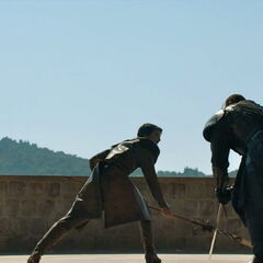 Gregor walczy z Oberynem.