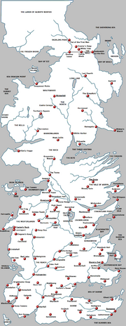 Large Westeros Castles Named