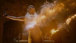 Дейнерис в пламени драконов 2x10