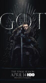 Season 8 poster Jon