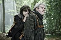 Бран Старк и Ходор 2x01