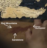501 birthmark Dorne