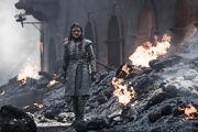Arya Burned Bodies S8 Ep5