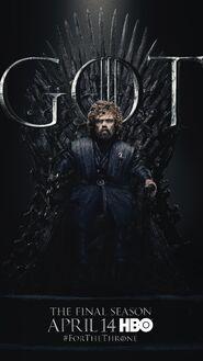 Season 8 poster Tyrion