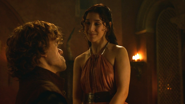 File:Shae talking to tyrion about his wedding to sans.png