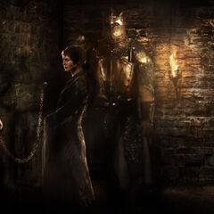 Cersei mit Ihren Gefangenen in den Schwarzen Zellen