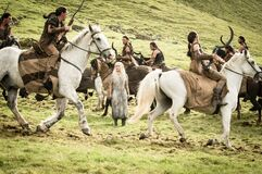 Khalessi captured by Dothraki s5