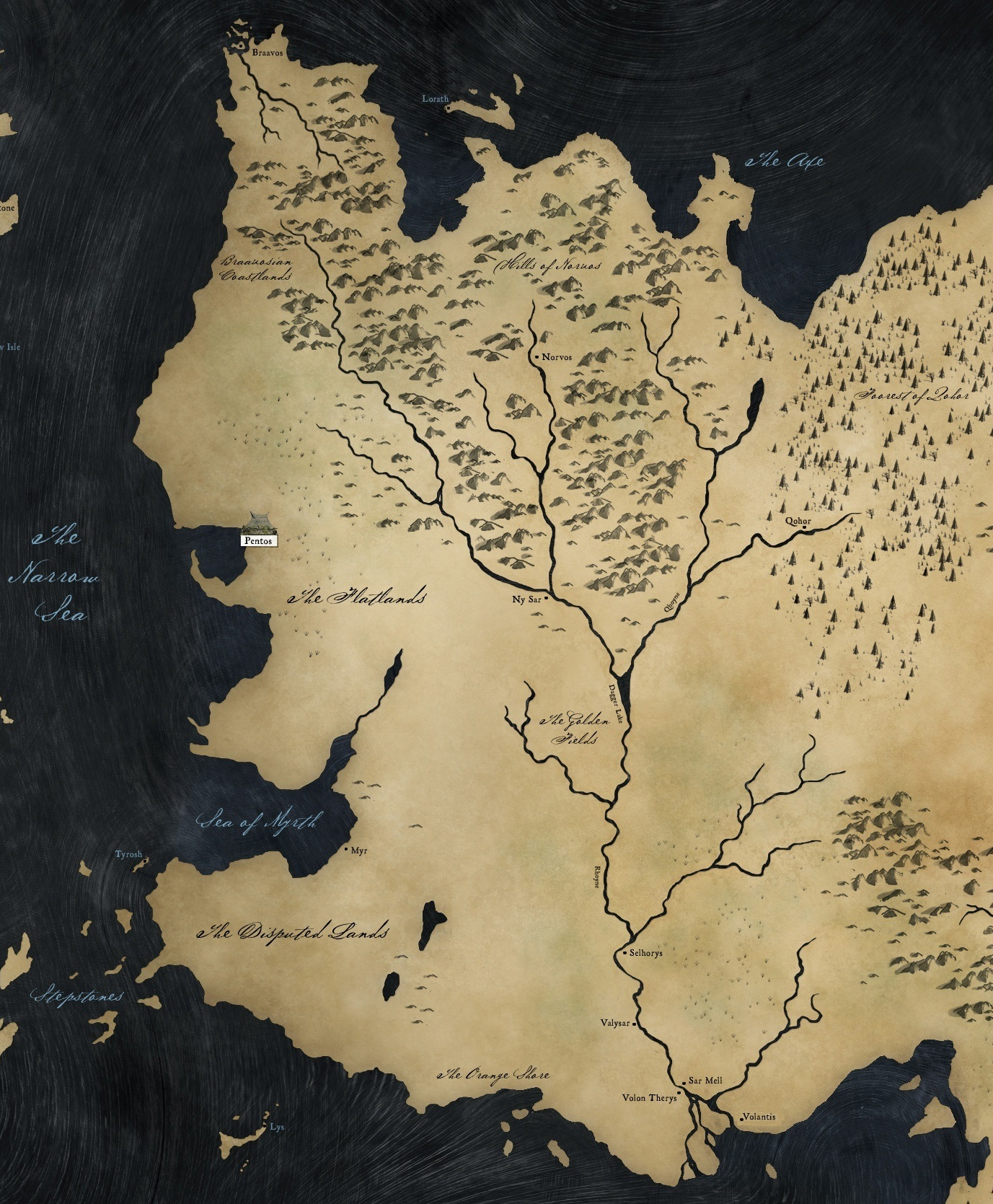 Image The Free Cities Mappng Game of Thrones Wiki FANDOM