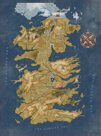 Westeros Game Of Thrones Wiki Fandom