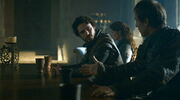 Edmure Tully and Robb argue S3E6