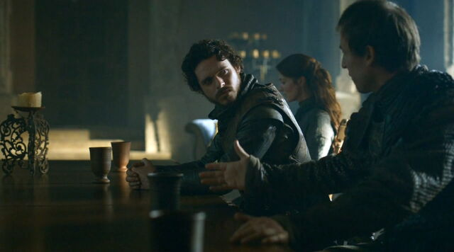 File:Edmure Tully and Robb argue S3E6.jpg
