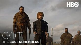 The Cast Remembers Peter Dinklage on Playing Tyrion Lannister Game of Thrones Season 8 (HBO)