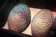 Dragon eggs 3rd GRR martin has