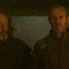Davos i Stannis.
