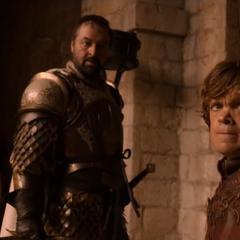 Ser Meryn Trant odrzuca rozkaz Tyriona.