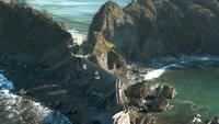 Путь от моря к замку