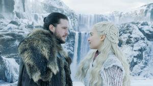 801 Jon Schnee Daenerys Targaryen