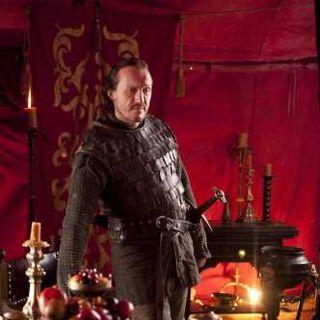 Bronn na tenda de Tyrion em