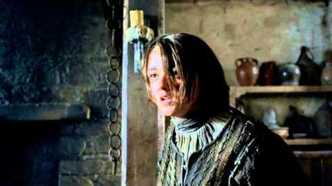 Game of Thrones Season 4 Stark Direwolf Tease (HBO)