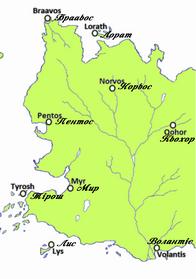 ВільніМістаЕссоса Карта