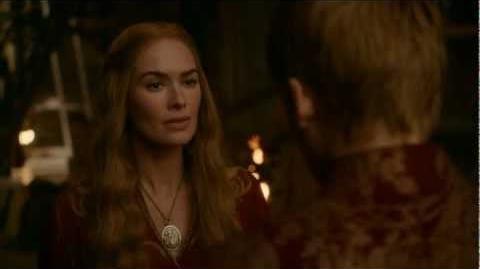 Cercei Lannister slaps Joffrey Baratheon