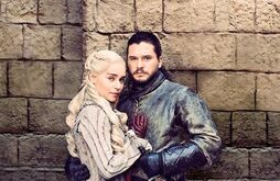 Jon and Dany in love s8