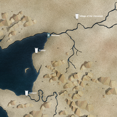 Міерін на мапі в офіційному путівнику до серіалу <a rel=