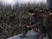 Batalha de Castelo Negro by Giliberti